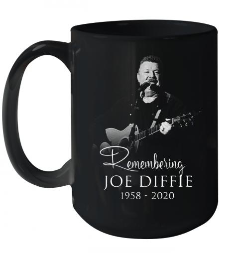 Remembering Joe Diffie 1958 – 2020 Signature Ceramic Mug 15oz