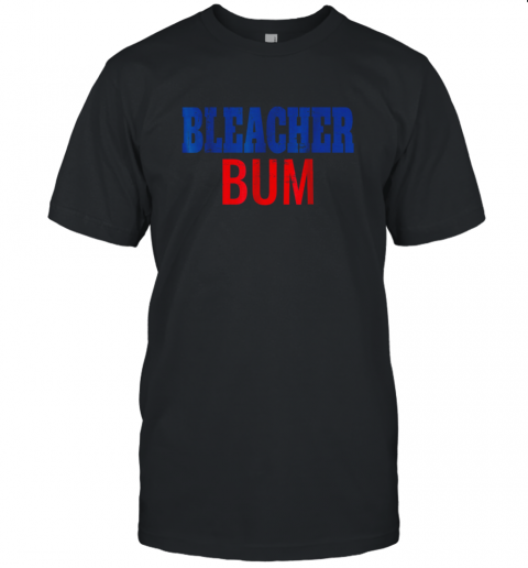 Bleacher Bum Original Chicago Baseball Distressed Unisex Jersey Tee