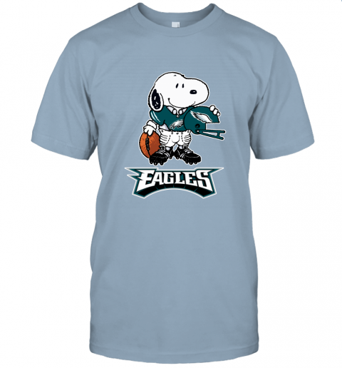 Snoopy A Strong And Proud Philadelphia Eagles Player NFL Unisex Jersey Tee