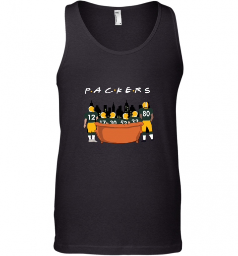 The Green Bay Packers Together F.R.I.E.N.D.S NFL Tank Top