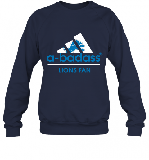 fu1p a badass detroit lions mashup adidas nfl sweatshirt 35 front navy