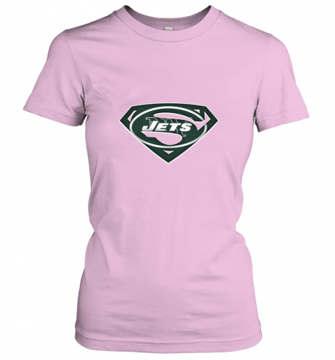 0p6d we are undefeatable the new york jets x superman nfl ladies t shirt 20 front light pink