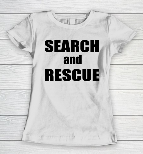 Trump Search And Rescue Women's T-Shirt 1