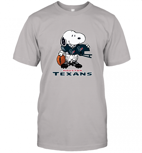 Snoopy A Strong And Proud Houston Texans Player NFL Unisex Jersey Tee