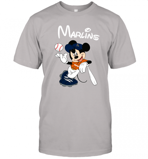 tdvl baseball mickey team miami marlins jersey t shirt 60 front ash