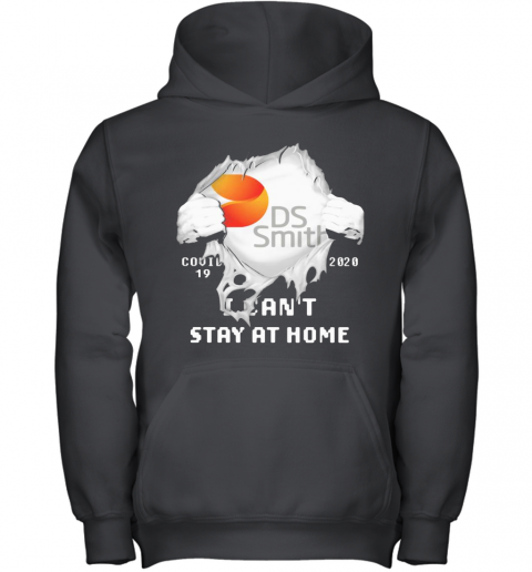 Blood Insides Ds Smith Covid 19 2020 I Can'T Stay At Home Youth Hoodie