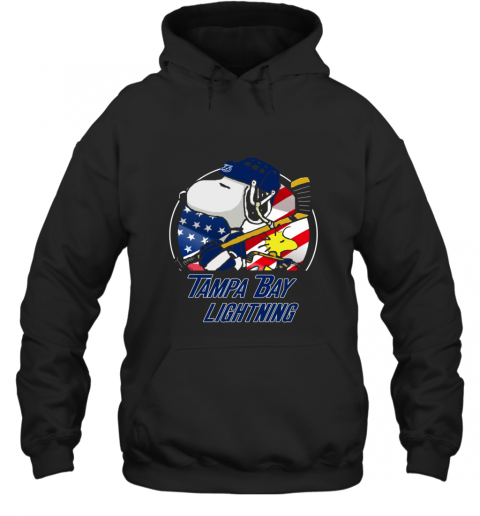 Tampa Bay lightning  Snoopy And Woodstock NHL Hoodie