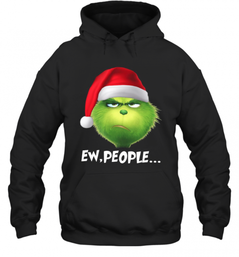 The Grinch Ew People Christmas Hoodie