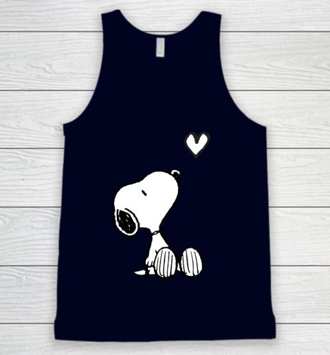 Peanuts Valentine Snoopy Heart Tank Top 2