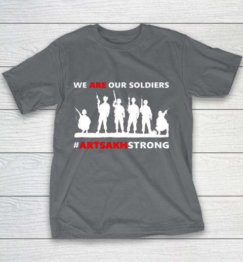 We Are Our Soldiers Youth T-Shirt 13