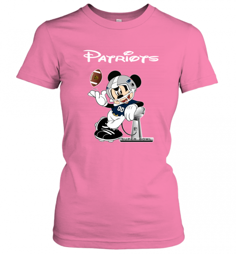txtn mickey patriots taking the super bowl trophy football ladies t shirt 20 front azalea