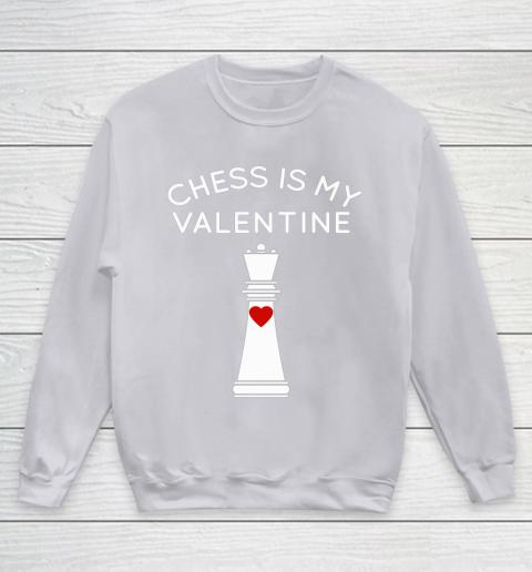 Chess Is My Valentine Youth Sweatshirt 3