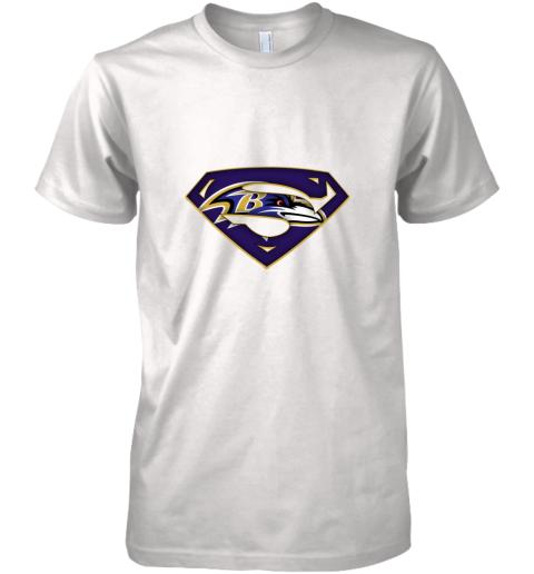 We Are Undefeatable The Baltimore Ravens x Superman NFL Premium Men's T-Shirt