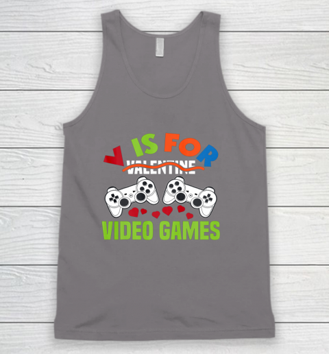 Funny Video Games Lover Valentine Day Tank Top 6