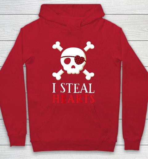 I Steal Hearts T Shirt Boy Girl Toddler Skull Valentine Gift Hoodie 7