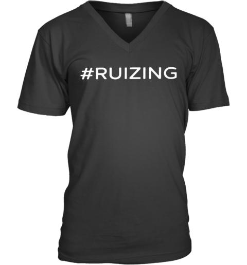 #Ruzing 2020 V-Neck T-Shirt