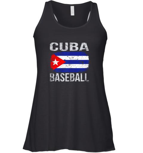 Cuba Baseball, Cuban Flag Racerback Tank
