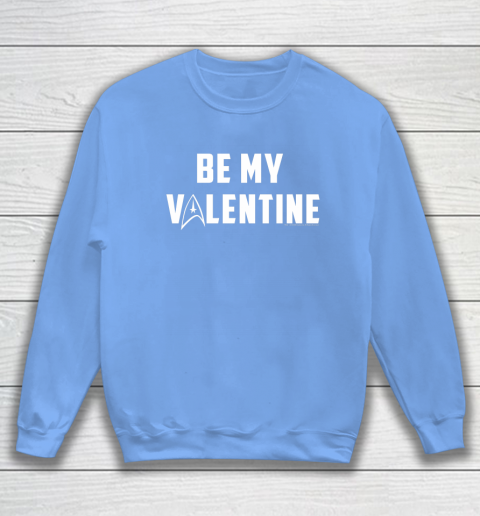 Star Trek Be My Valentine Delta Badge Graphic Sweatshirt 8