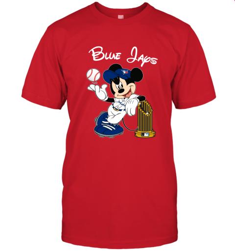 Toronto Blue Jays Mickey Taking The Trophy MLB 2019 Unisex Jersey Tee
