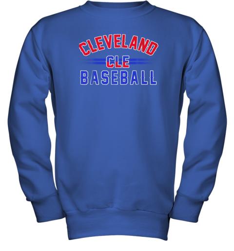 gitw cleveland cle baseball youth sweatshirt 47 front royal