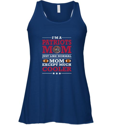 d6gk i39 m a patriots mom just like normal mom except cooler nfl flowy tank 32 front true royal
