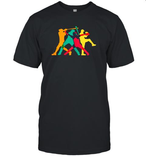 Vintage Baseball Shirt Gifts Unisex Jersey Tee