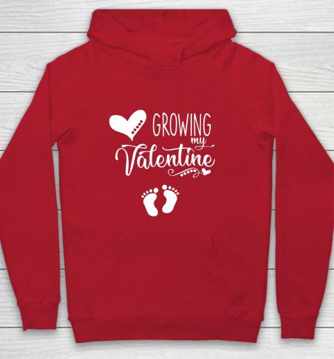 Growing my Valentine Tshirt for Wife Hoodie 7