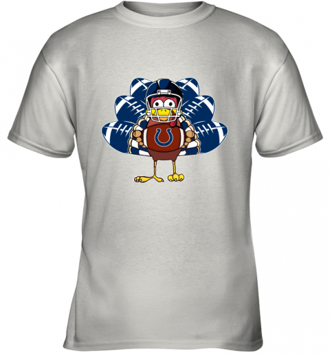 Indianapolis Colts  Thanksgiving Turkey Football NFL Youth T-Shirt