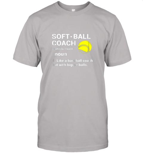 l2tp soft ball coach like baseball bigger balls softball jersey t shirt 60 front ash