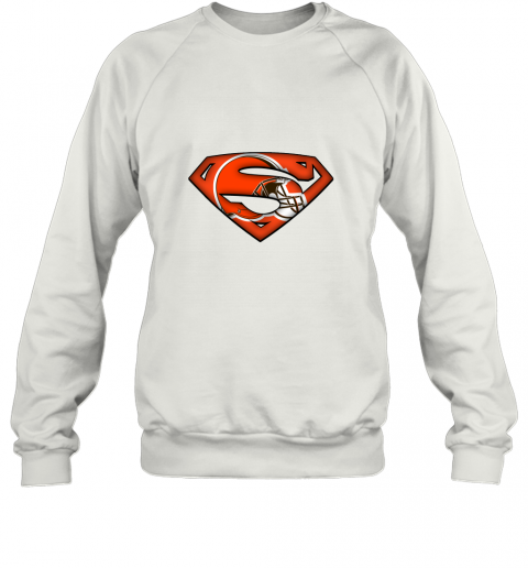 We Are Undefeatable The Cleveland Browns x Superman NFL Sweatshirt