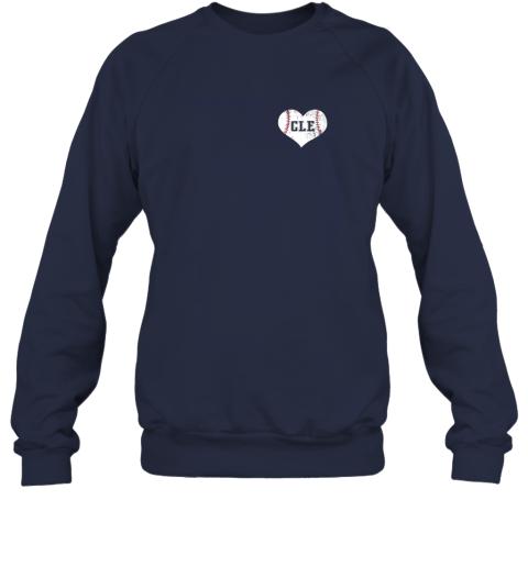 l9mw vintage cleveland baseball sweatshirt ohio cle sweatshirt 35 front navy