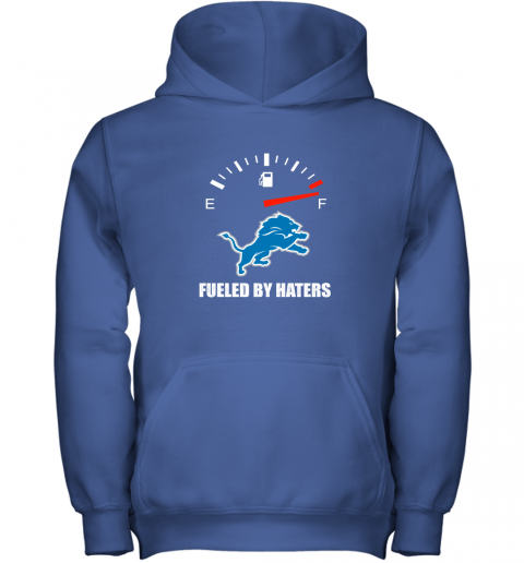 ssdm fueled by haters maximum fuel detroit lions youth hoodie 43 front royal