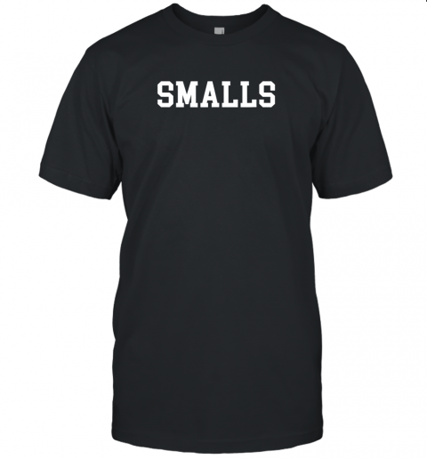 Smalls Shirt Funny Baseball Gift Unisex Jersey Tee
