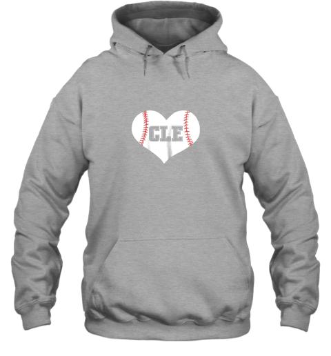 eta9 cleveland ohio baseball love heart cle gift jersey fan hoodie 23 front sport grey