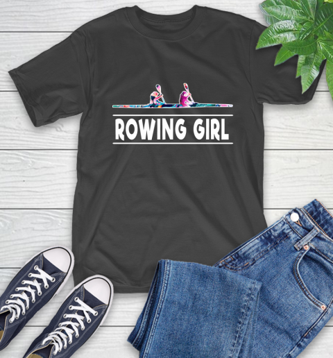 I'm A Rowing Girl Love Flowers And Never Give Up