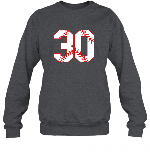 swki thirtieth birthday party 30th baseball shirt born 1989 sweatshirt 35 front dark heather