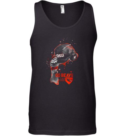 Oregon State Beavers Rising Baseball Hat Shirt  Apparel Tank Top