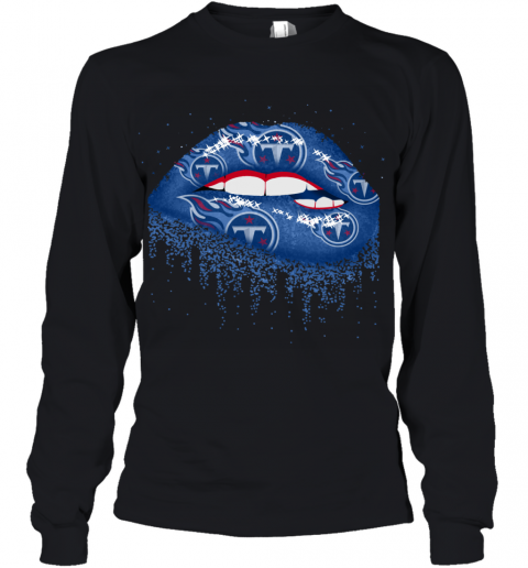 Sexy  Lips Tennessee Titans NFL Youth Long Sleeve