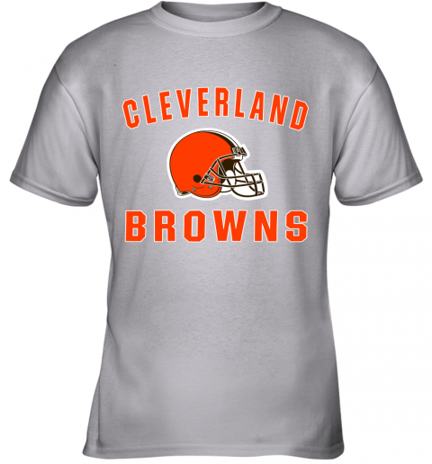 ab4y cleveland browns nfl line by fanatics branded brown victory youth t shirt 26 front sport grey