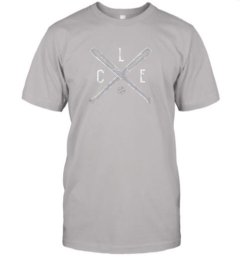 2t5w vintage cleveland baseball shirt cleveland ohio jersey t shirt 60 front ash