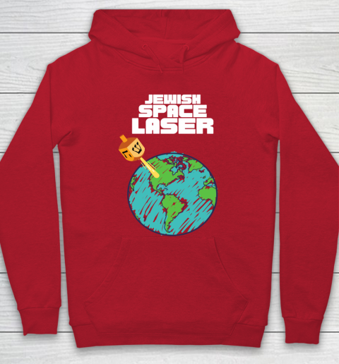 Jewish Space Laser Insane Funny Conspiracy Theory Hoodie 7