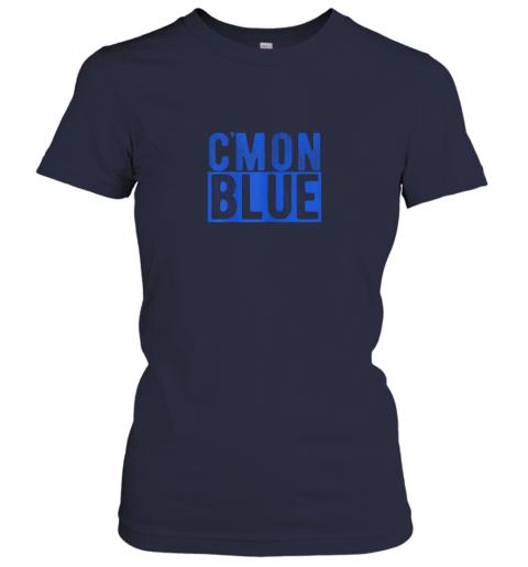 hg5f cmon blue umpire baseball fan graphic lover gift ladies t shirt 20 front navy