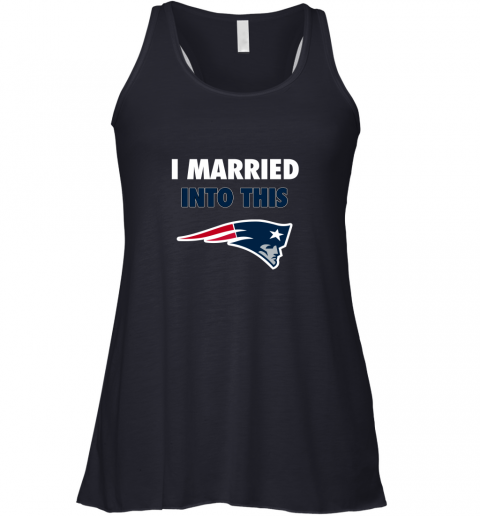 5fxa i married into this new england patriots football nfl flowy tank 32 front midnight