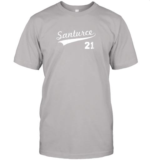 tbft vintage santurce 21 puerto rico baseball jersey t shirt 60 front ash