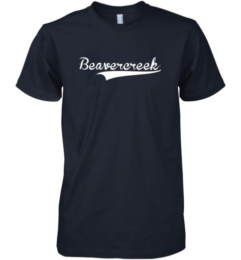 yphv beavercreek baseball styled jersey shirt softball premium guys tee 5 front midnight navy