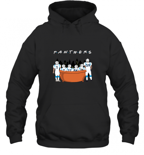 The Carolina Panthers Together F.R.I.E.N.D.S NFL Hoodie
