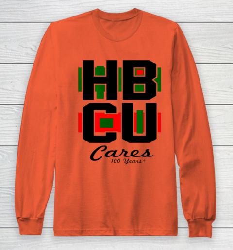 HBCU Cares College University Graduation Gift Black School Long Sleeve T-Shirt 3