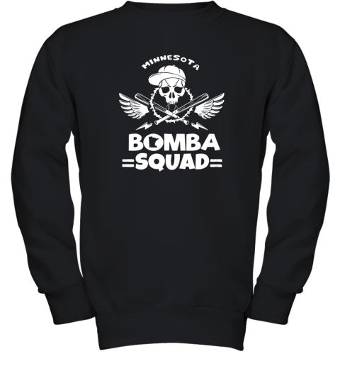 BOMBA SQUAD Twins Shirt Minnesota Baseball Men BOMBA SQUAD Youth Sweatshirt