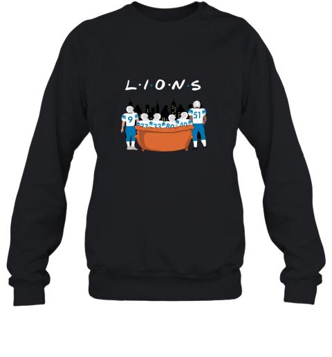 The Detroit Lions Together F.R.I.E.N.D.S NFL Sweatshirt