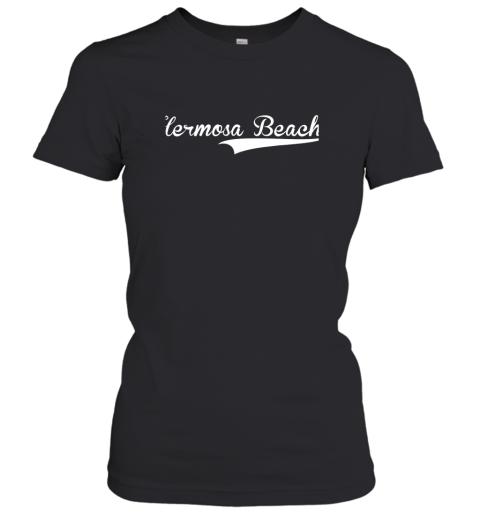HERMOSA BEACH Baseball Softball Styled Women's T-Shirt